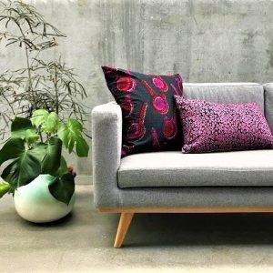 Sofa med mønstrede puder - fra MitoMito
