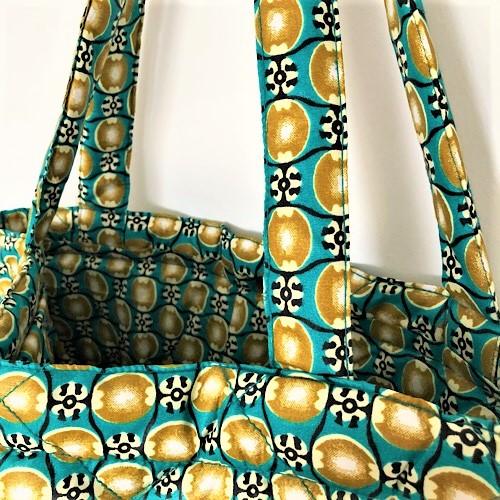 Shopper Filla med fin guldfarvet trykknap - fra Mitomito