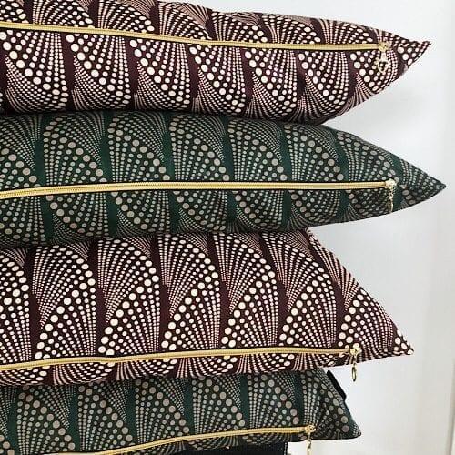 Puder Masika Fox og Masika Rex med fint guirlande mønster - fra Mitomito