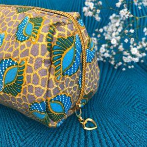 Makeup-pung Jojo med glimmer og guldlynlås fra Mitomito