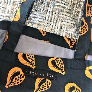 Flæsenet Joya med fint print fra Mitomito