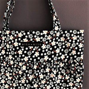 Flæsenet Afi med fint blomsterprint fra Mitomito