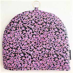 Tehætte Jasmine i sort, lilla, pink, gul fra Mitomito
