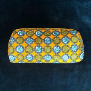 Makeup-pung Jolene med glimmer og guldlynlås fra Mitomito
