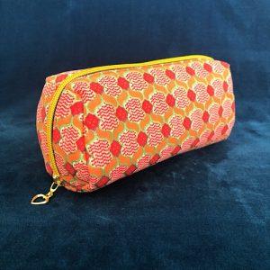 Makeup-pung Sandra med glimmer og guldlynlås fra Mitomito