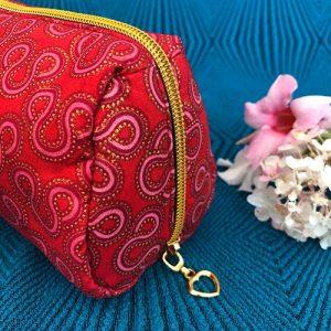Makeup-pung Isabell med glimmer og guldlynlås fra Mitomito