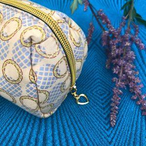 Makeup-pung Lilli med glimmer og guldlynlås fra Mitomito