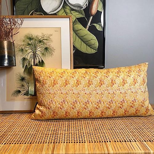 Celia pude 30x60 i gule nuancer fra Mitomito